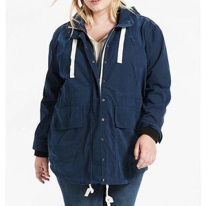 NWT Lucky Brand Utility Anorak Jacket